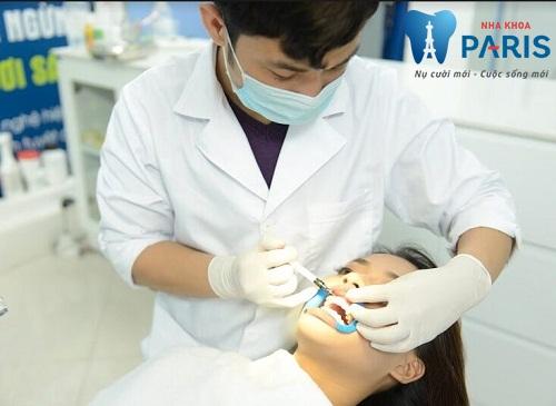 Tẩy trắng răng trắng sáng tại nha khoa Paris
