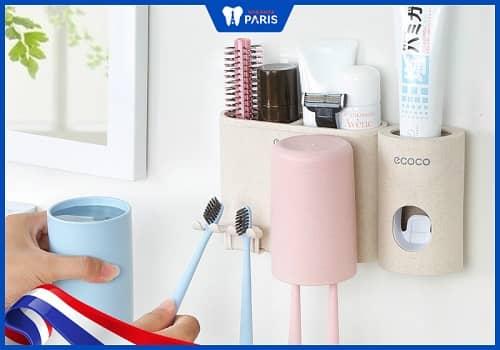 bảo quản bàn chải răng đúng cách