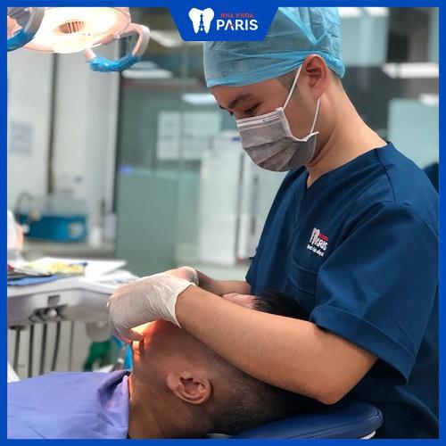 Điều trị sâu răng hôi miệng tại Nha Khoa Paris