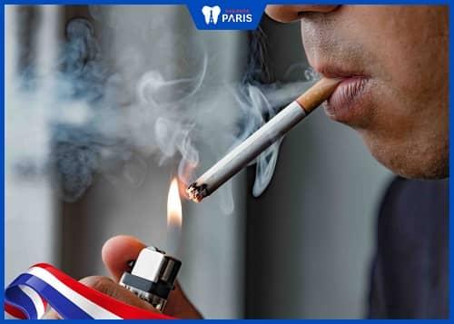hút thuốc lá có thể làm răng dài ra