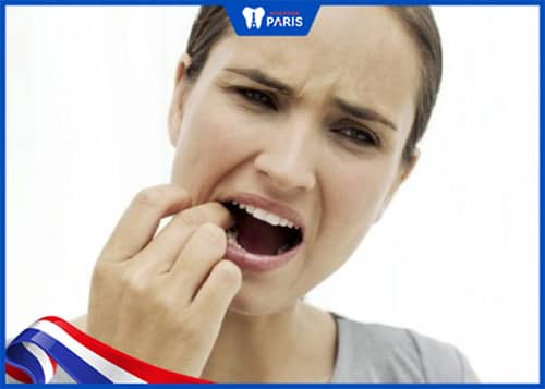 Khó ăn nhai khi mất răng hàm dưới, hàm trên