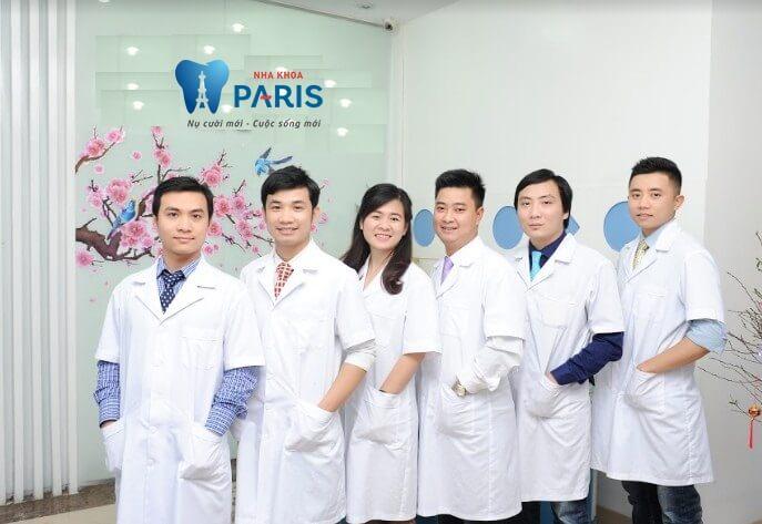 Đội ngũ bác sĩ giỏi, chuyên môn cao tại Nha khoa Paris