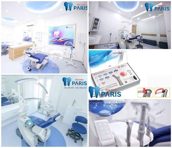 Cơ sở vật chất đầy đủ tại Nha khoa Paris