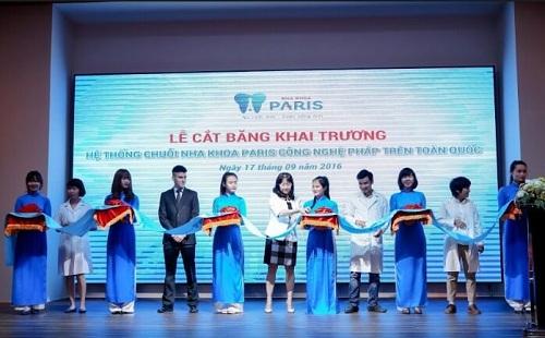 Khai trương cơ sở Nha khoa Paris Nguyễn Thái Học TPHCM