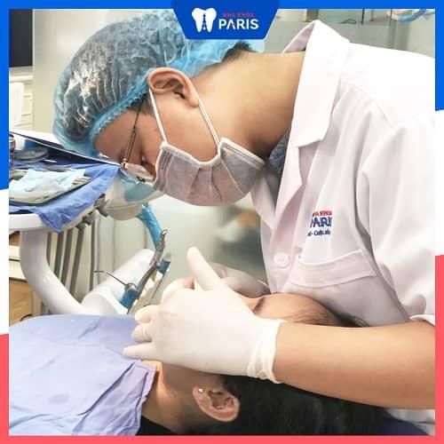quy trình chữa tủy răng - cách ly và gây tê