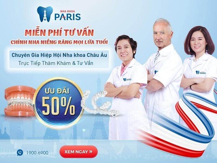 OFF 50% - Miễn phí tư vấn chỉnh nha niềng răng ngày 20/05/2017
