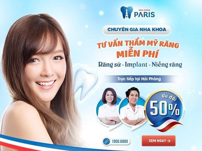 OFF 50% - Ngày hội tư vấn thẩm mỹ răng toàn diện 3/6/2017 tại Hải Phòng