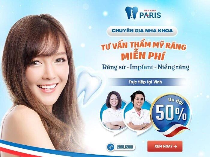 OFF 50% - Ngày hội tư vấn thẩm mỹ răng toàn diện 3/6/2017 tại Vinh