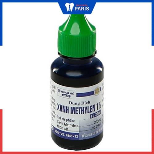 Xanh metylen chữa viêm lợi trẻ em