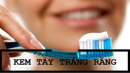 Kem tẩy trắng răng sử dụng khá đơn giản