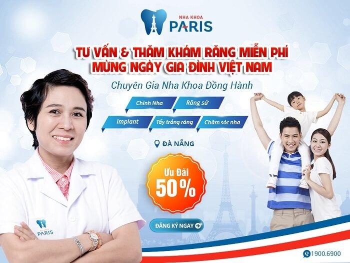 OFF 50% TƯ VẤN & THĂM KHÁM MIỄN PHÍ MỪNG NGÀY GIA ĐÌNH VIỆT NAM 24/06/2017