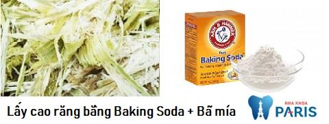 Bã mía làm tăng hiệu quả lấy cao răng của baking soda