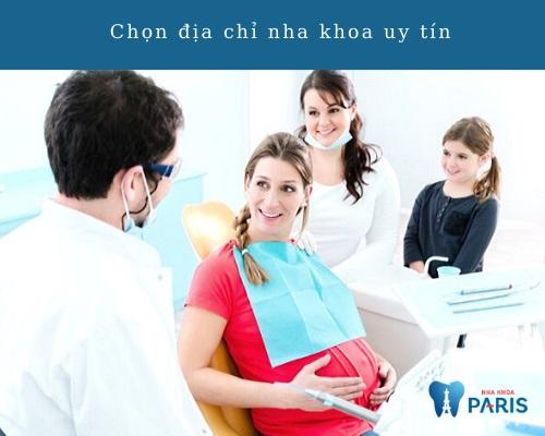 Có bầu có được đi làm răng?
