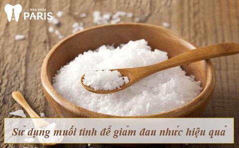 Image result for Sử dụng muối ăn để chữa đau nhức răng nhanh