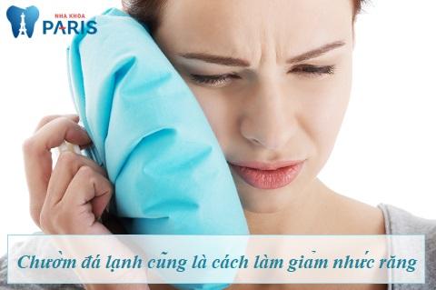 cách trị nhức răng bằng đá lạnh