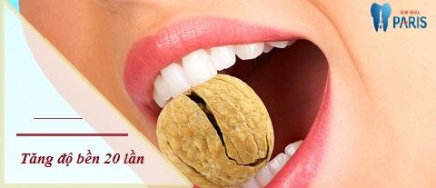 Bọc răng sứ tại Vinh với Nano 5S - độ bền được tăng gấp 20 lần