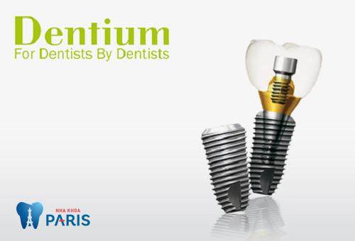 Trụ Dentinum có thời gian lành thương chậm