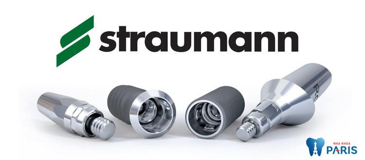 Trụ Implant Straumann có thời gian tích hợp nhanh