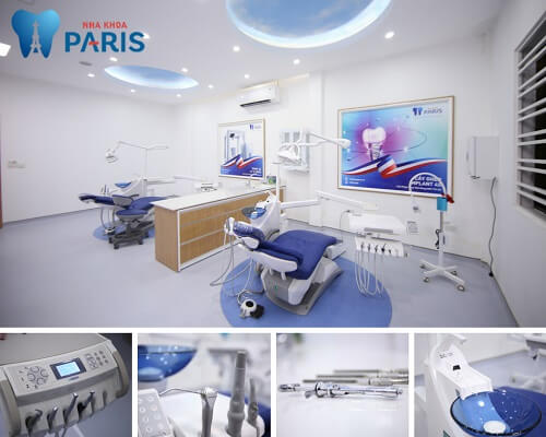 Hệ thống máy móc, công nghệ hiện đại tại nha khoa Paris