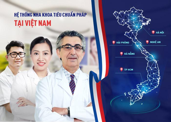 nha khoa Paris - chuỗi hệ thống nha khoa tiêu chuẩn Pháp tại Việt Nam