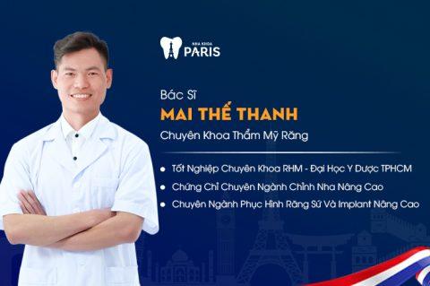 Nha sĩ, bác sĩ Mai Thế Thanhc
