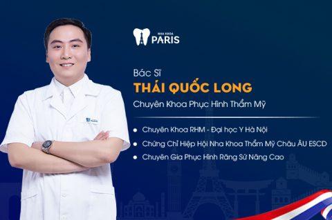 Nha sĩ, bác sĩ Thái Quốc Long