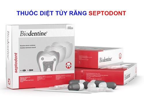 thuốc diệt tủy răng septodont
