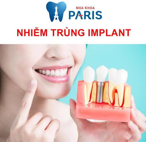 nhiễm trùng implant