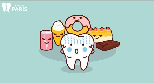 sâu răng ở trẻ em do đâu?