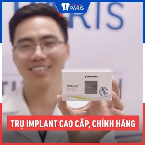 cấy răng Implant có bền chắc không