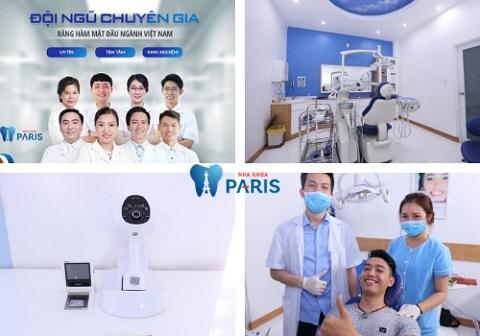 Nha khoa Paris - địa chỉ thẩm mỹ răng chất lượng
