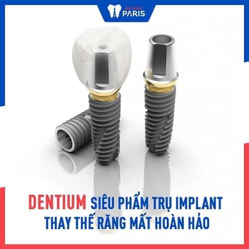 trụ implant có những loại nào