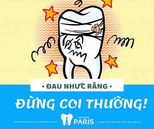 Đau nhức răng - Triệu chứng không thể coi thường