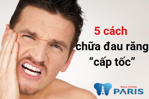 5 cách chữa đau răng tại nhà cấp tốc