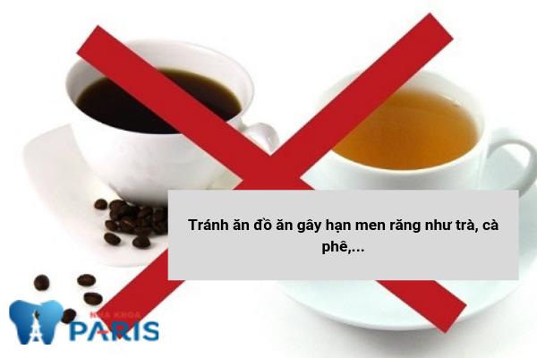 Tránh đồ ăn gây hại men răng làm ê buốt răng
