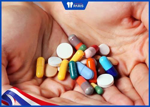 uống thuốc giảm đau răng khi niềng