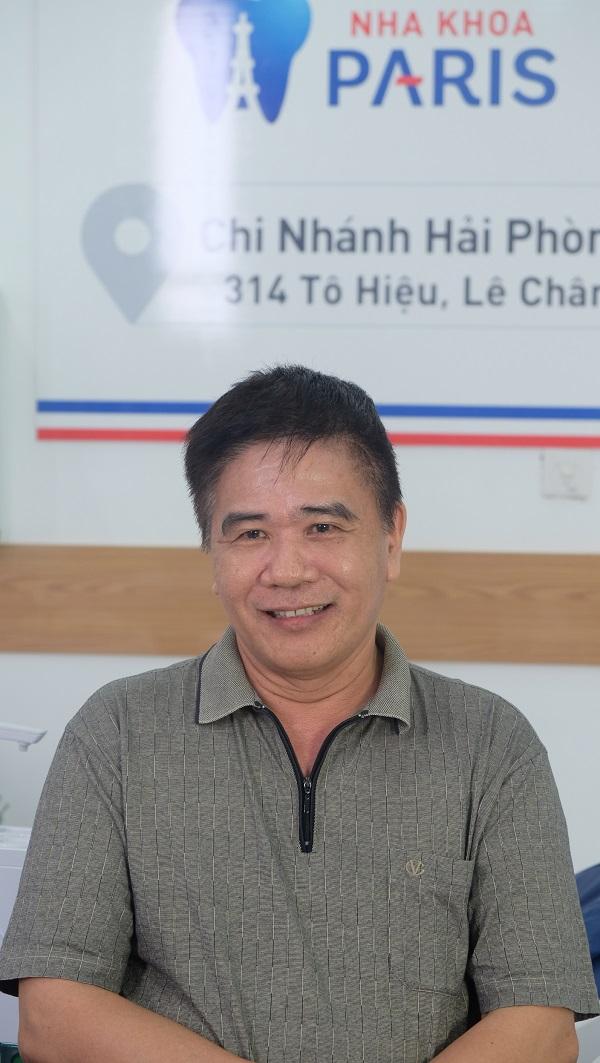 """""""Phép màu"""" đến với Chú Quang Biên khi hoàn thành cấy ghép Implant tại Paris"""