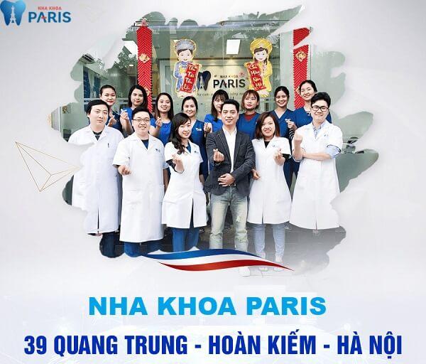 Nha khoa Paris chi nhánh 39 Quang Trung - Hà Nội