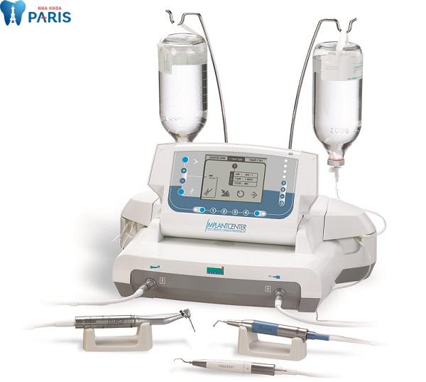 Hệ thống máy nhổ răng siêu âm hiện đại trong công nghệ Piezotome đang ứng dụng tại Nha khoa Paris