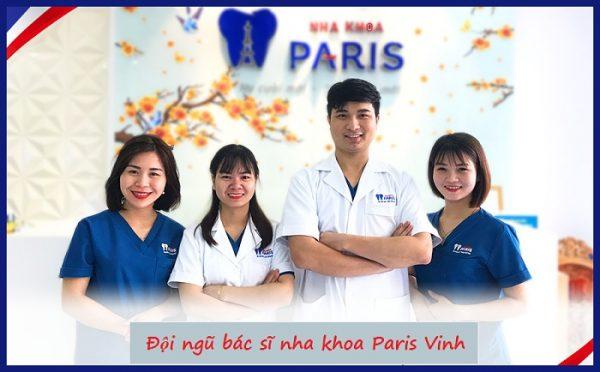 Đội ngũ chuyên gia hàng đầu tại nha khoa Paris Vinh