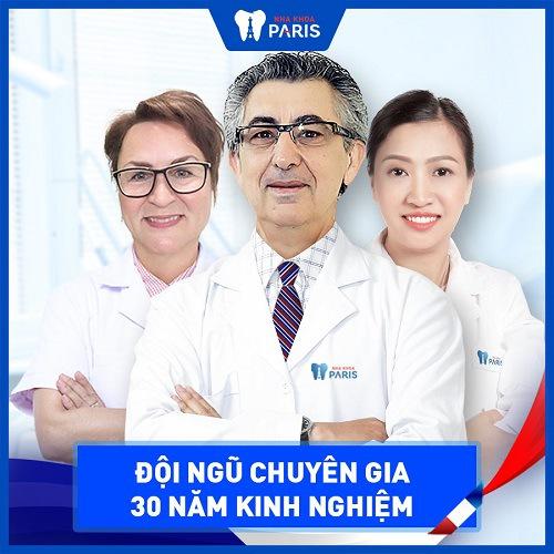 Nhổ răng khôn an toàn tại Hà Nội bởi đội ngũ bác sĩ tận tâm tại nha khoa Paris