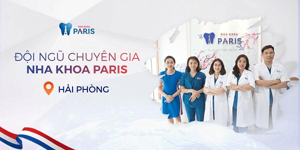 Đội ngũ y bác sĩ nha khoa Paris