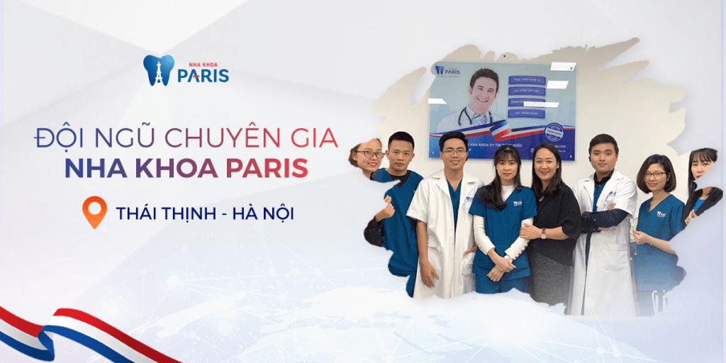 Nha khoa Paris - cơ sở 12 Thái Thịnh - Đống Đa - Hà Nội