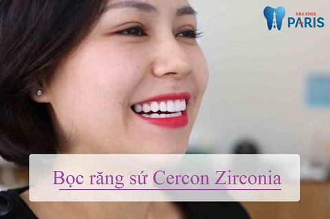 bọc răng sứ zirconia giá bao nhiêu