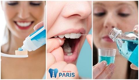Có chế độ chăm sóc răng miệng đúng cách