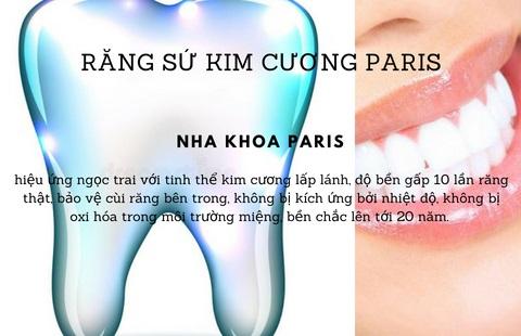 Răng toàn sứ kim cương