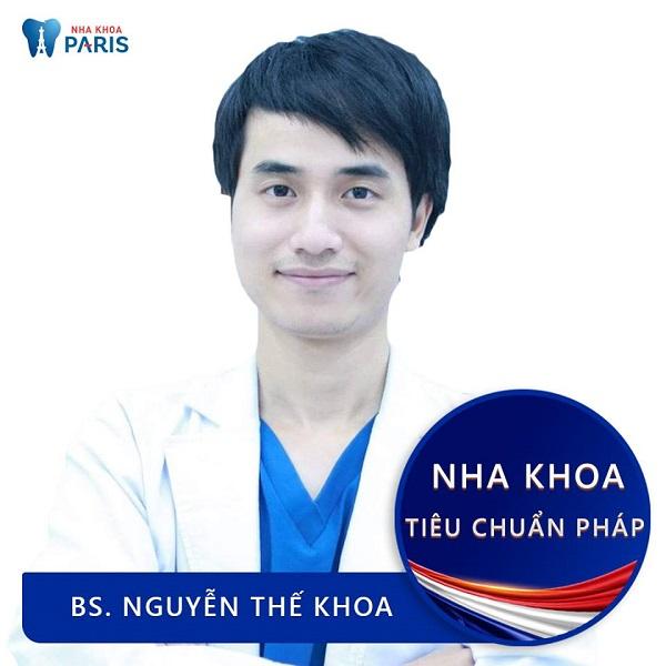 Bác sĩ niềng răng giỏi ở Hà Nội - Nguyễn Thế Khoa