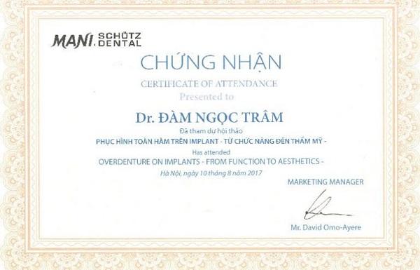 Bác sĩ niềng răng giỏi ở Hà Nội 2