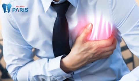 Sâu răng ở giai đoạn nặng có thể làm trầm trọng hơn các bệnh về hô hấp, tim mạch