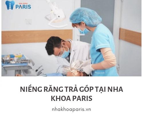 Niềng răng trả góp tại nha khoa Paris